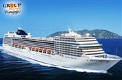 11 Luglio: MSC POESIA da Napoli! Cabine Triple e Quadruple Vista Mare da so...