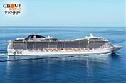 UN ROMANTICO SAN VALENTINO IN CROCIERA: MSC SPLENDIDA da soli 429€ a person...